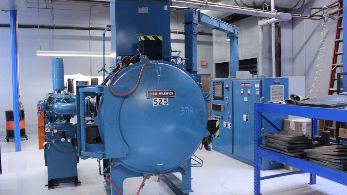 Thermal Processing - Capabilities Metal Forming